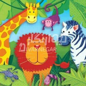 نقاشی دیواری مهد