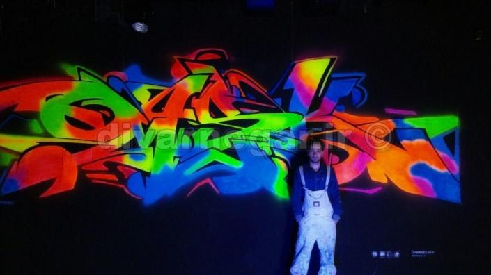 نمونه کار نقاشی دیواری