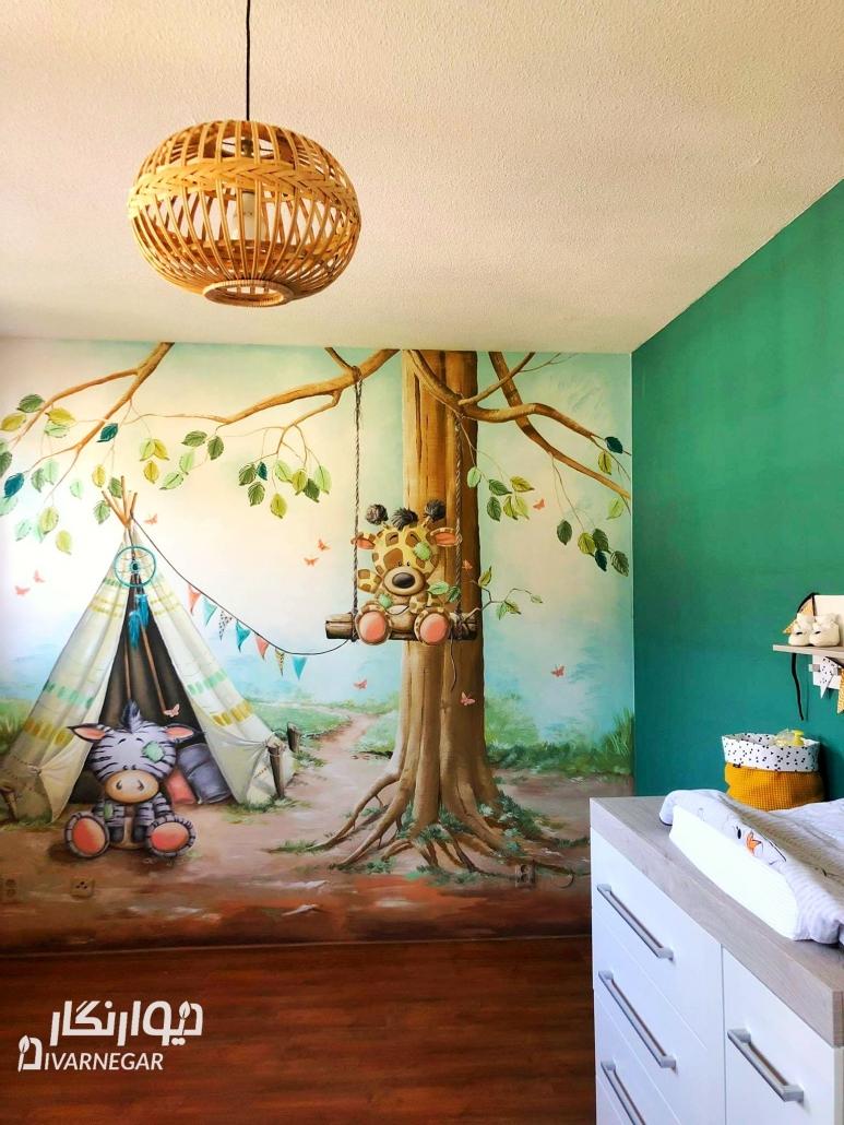 سفارشات نقاشی دیواری