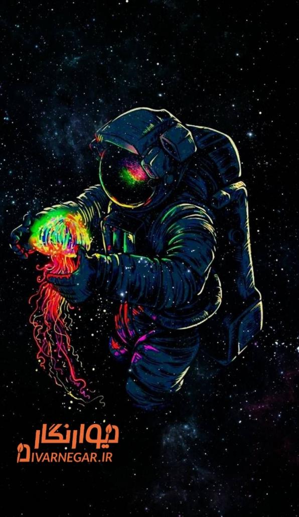 فضانورد اقیانوس بلک لایت