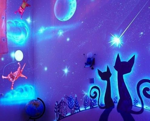 نقاشی شب تاب