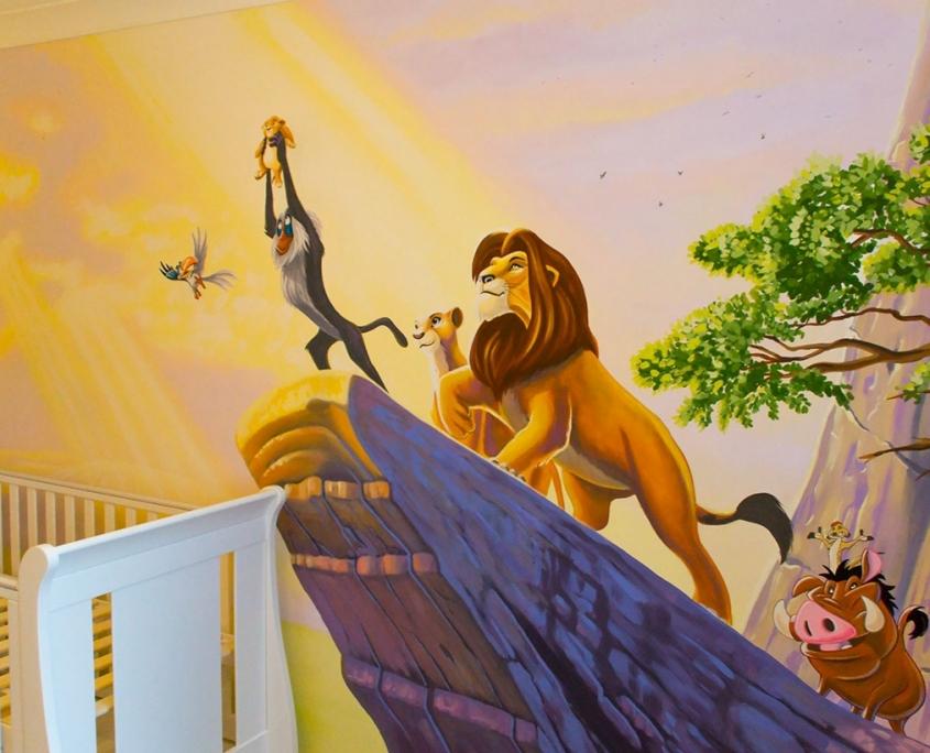 دیواری اتاق کودک 845x684 - گالری (آلبوم)