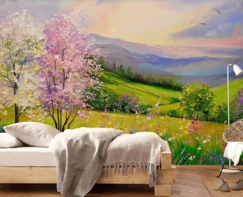 طبیعت در اتاق 845x684 - طرحهای پيشنهادی