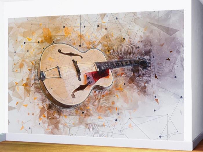 گیتار روی دیوار - طرحهای پيشنهادی