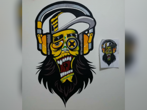 گرافیتی 300x225 - آموزش مجازی نقاشی دیواری