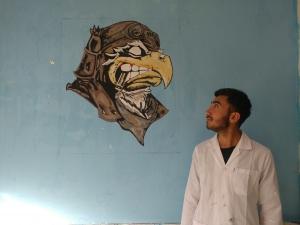 گرفیتی 300x225 - آموزش مجازی نقاشی دیواری