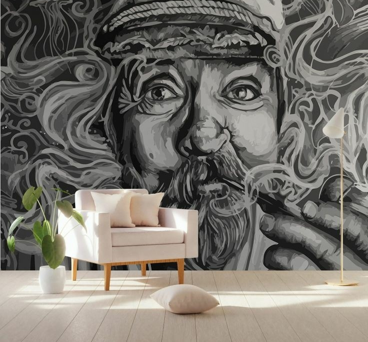 دیواری کافی شاپ 736x684 - رابطه قیمت نقاشی دیواری و کیفیت اجرا